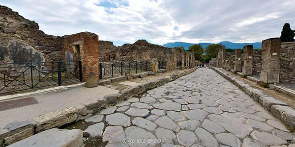Pompeya visita virtual