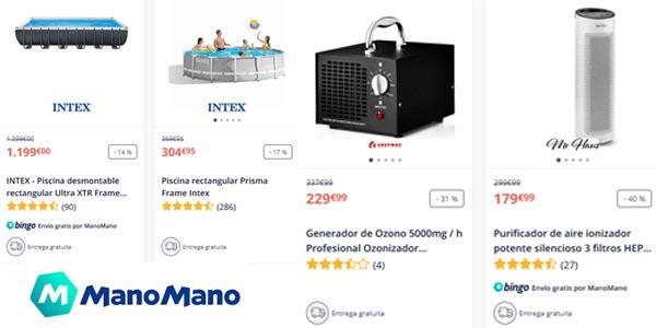 Promoción descuento 50% en ManoMano