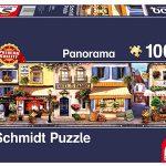 Puzzle Paseo por París panorámico de 1000 Piezas Schmidt Spiele barato en Amazon