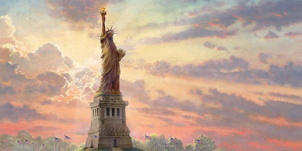 Puzle Schmidt 1000 piezas Estatua de la Libertad en la Noche (brilla en la oscuridad) chollo en Amazon