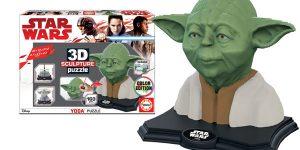 Puzle Star Wars Yoda 3D Sculpture barato en Amazon