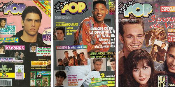 Revistas SuperPop en pesetas
