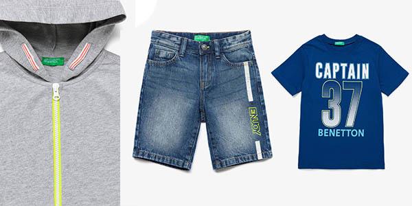 ropa para niños ofertas Benetton