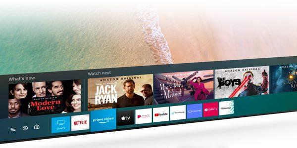 Samsung QLED 8K Q950TS Sistema Smart Tizen