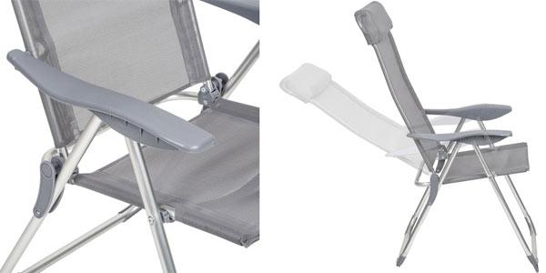 Pack de 4 sillas plegables para exterior en oferta en ManoMano