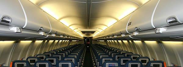 sistema de purificación de aire en cabina aviones