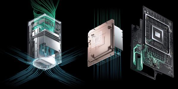 Sistema de refrigeración Xbox Series X