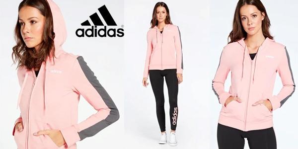 Chollo Sudadera adidas Band con capucha para mujer por sólo ...