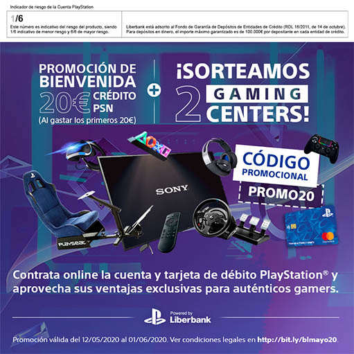 Tarjeta Playstation