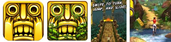 Temple run y Temple run 2 para Android