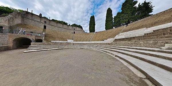 visita virtual a las ruinas de Pompeya Italia