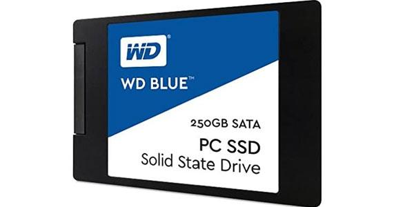 Disco WD Blue SSD interno 250 Gb en oferta en Amazon