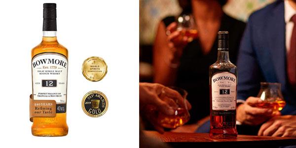 Whisky Bowmore Islay Single Malt 12 años chollo Amazon