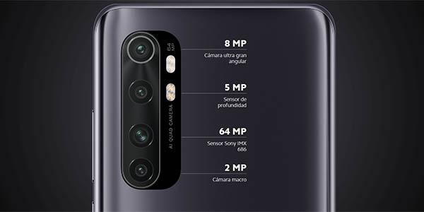Xiaomi Mi Note 10 Lite con cuádruple cámara