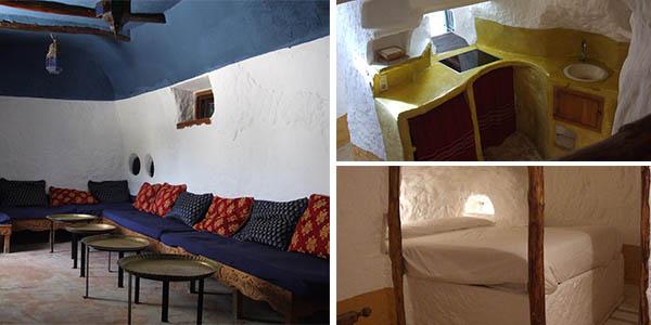Al Jatib cueva alojamiento para grupos en Baza Granada a precio de chollo