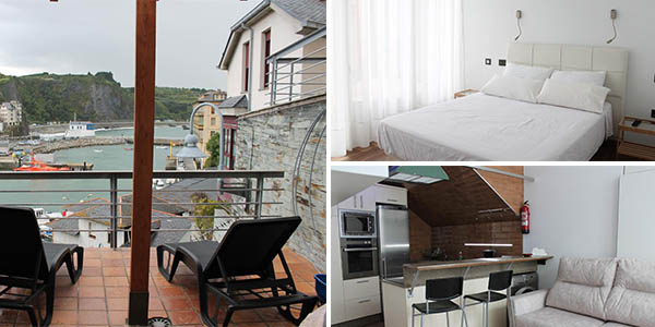 Apartamentos turísticos Vistademar en Luarca de relación calidad-precio estupenda