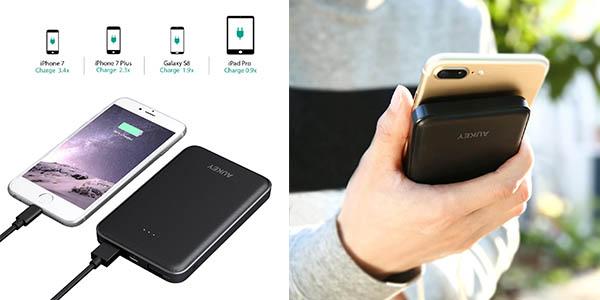 Aukey batería externa 10000mah oferta