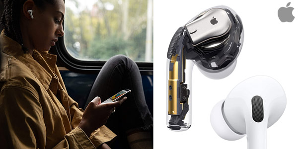 Auriculares inalámbricos Apple AirPods Pro chollo en Amazon