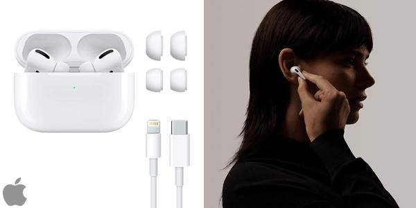 Auriculares inalámbricos Apple AirPods Pro chollazo en Amazon