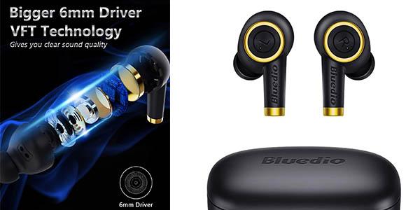 auriculares inalámbricos por Bluetooth Bluedio P de relación calidad-precio estupenda