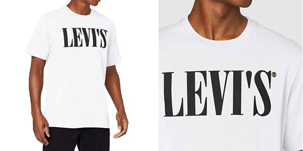 Camiseta levi's Relaxed Graphic barata en Amazon