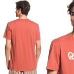 Camiseta manga corta Quiksilver New Slang Sr para hombre barata en Amazon
