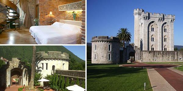 Castillo Arteaga alojamiento de primera categoría en el País Vasco