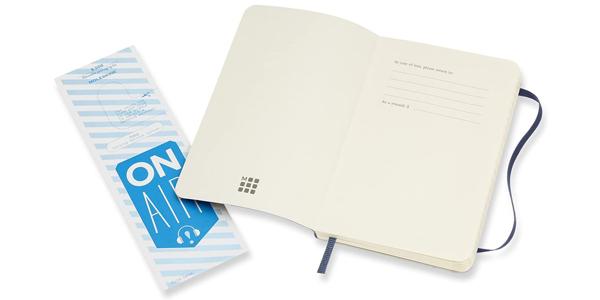 Cuaderno Clásico Moleskine con Páginas Rayadas de bolsillo chollo en Amazon