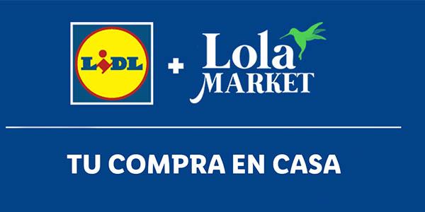 cupón descuento en Lidl para compras en LolaMarket
