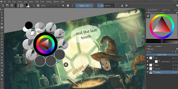 Descarga gratis Krita para ilustración digital