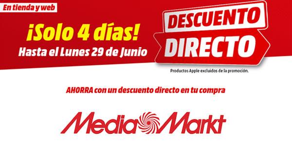 Descuento Directo en Media Markt promoción