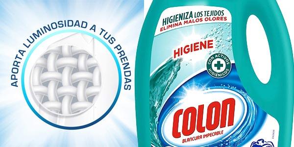 Envase 40 dosis Colon Limpieza Impecable Detergente Líquido chollazo en Amazon