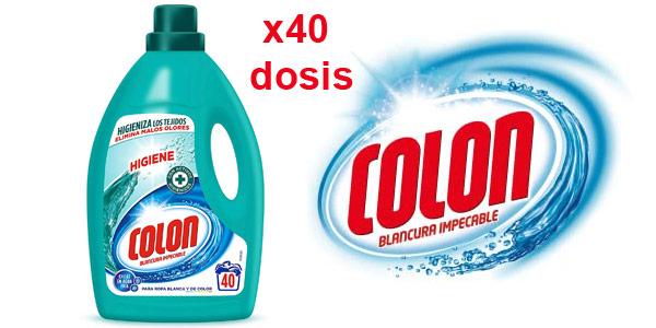 Envase 40 dosis Colon Limpieza Impecable Detergente Líquido barato en Amazon