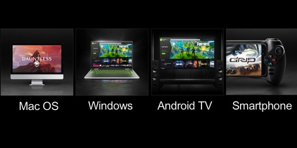 Dispositivos compatibles GeForce Now