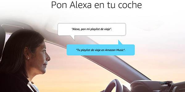 Echo Auto para llevar a Alexa en tu coche oferta