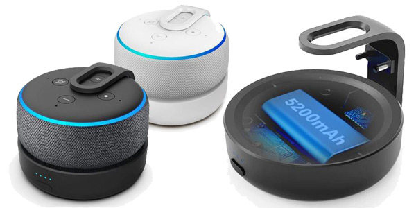 Base batería para Amazon Echo dot