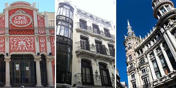 edificios del Modernismo en Madrid para hacer una escapada barata