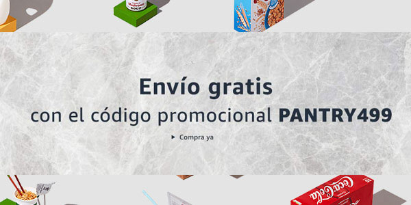 Envío gratis en Amazon Pantry