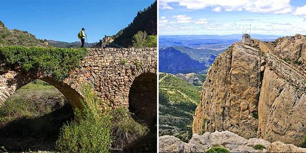 escapada a Castellón para hacer senderismo con alojamiento con alojamiento con encanto de relación calidad-precio alta