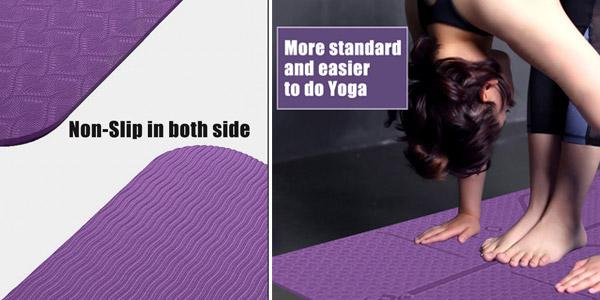 Esterilla Mat de Yoga TPE chollo en AliExpress