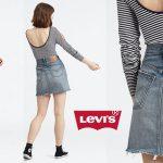 Falda Levi's HR Decon Iconic BF Skirt barata en Amazon