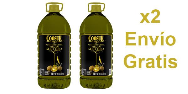 Garrafa Coosur serie oro de 5L chollo en Coosur