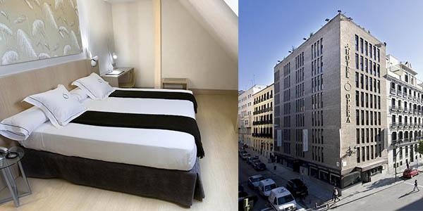Hotel Ópera Madrid en el barrio de los Austrias de relación calidad-precio estupenda