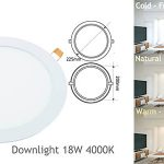 Downlights Jandei 18W pack 5 unidades barato