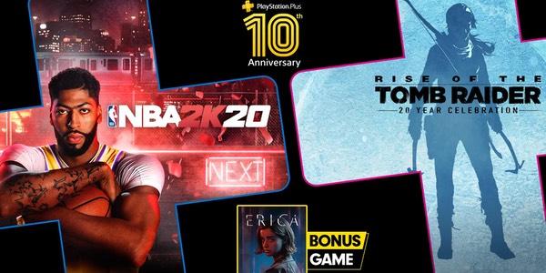 Juegos gratis con PS Plus julio 2020