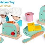 Set Juguetes Educativos Rolimate con Tostador y utensilios de cocina barato en Amazon