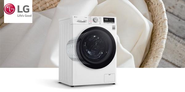 Lavadora inteligente de carga frontal LG F4WV510S0 de 10,5 Kg y 1400 rpm chollo en El Corte Inglés