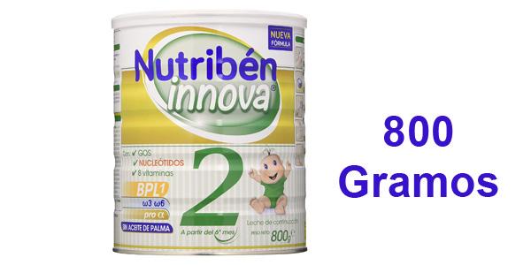 Leche de continuación Nutribén Innova 2 de 800 gr barata en Amazon