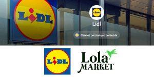 LolaMarket Lidl cupón descuento primera compra