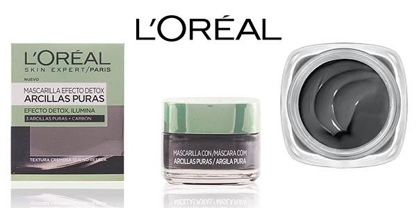 L'Oréal Paris Dermo Expertise arcillas puras mascarilla purificante chollo